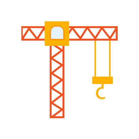 Crane icon vector isolated on white background for your web and mobile app design, Crane logo concept