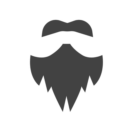 Hipster icon vector isolated on white background for your web and mobile app design, Hipster logo concept  イラスト・ベクター素材