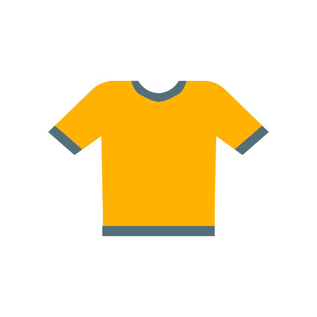 Shirt icon vector isolated on white background for your web and mobile app design, Shirt logo concept