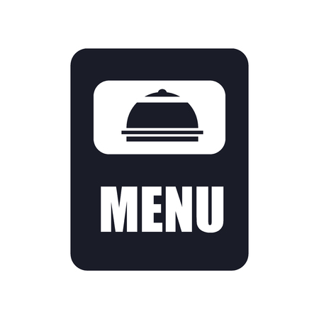 Menu icon vector isolated on white background for your web and mobile app design, Menu logo concept Banque d'images - 107520460