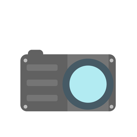 Photo camera icon vector isolated on white background for your web and mobile app design, Photo camera logo concept 版權商用圖片 - 107441545