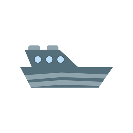 Yatch icon vector isolated on white background for your web and mobile app design, Yatch logo concept