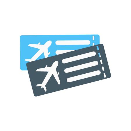 Vector icono de tarjeta de embarque aislado sobre fondo blanco para su diseño web y aplicaciones móviles, concepto de logo de tarjeta de embarque