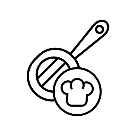 Cooking icon vector isolated on white background for your web and mobile app design, Cooking logo concept