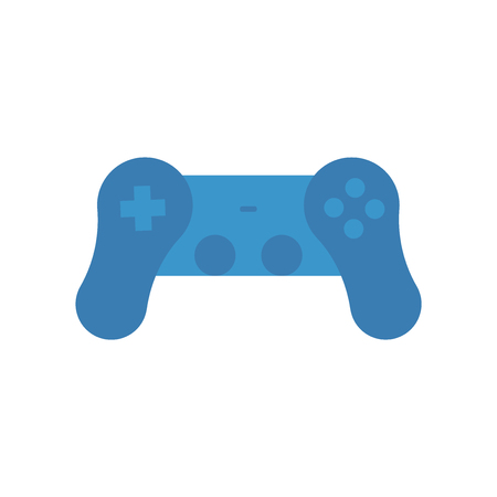 Gamepad icon vector isolated on white background for your web and mobile app design, Gamepad logo concept Illustration