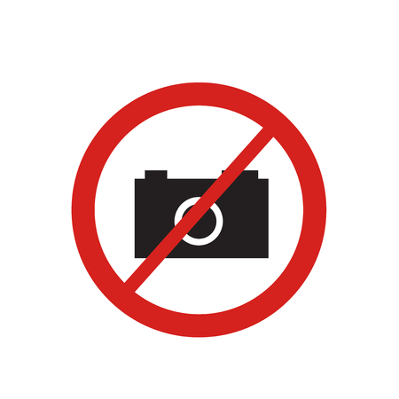 No photo icon vector isolated on white background for your web and mobile app design, No photo logo concept
