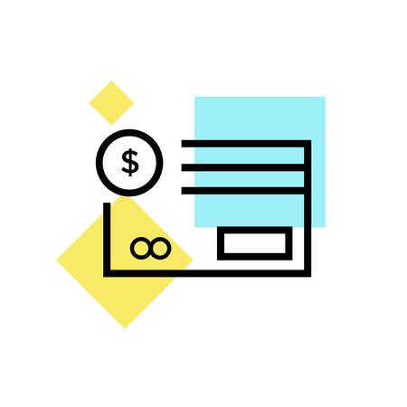 Vecteur d'icône de méthode de paiement isolé sur fond blanc pour la conception de votre application web et mobile, concept de logo de méthode de paiement Logo