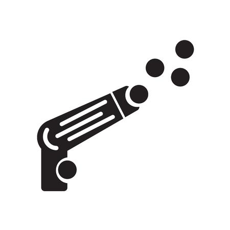 icono de ecualizador aislado sobre fondo blanco para su diseño web y aplicación móvil