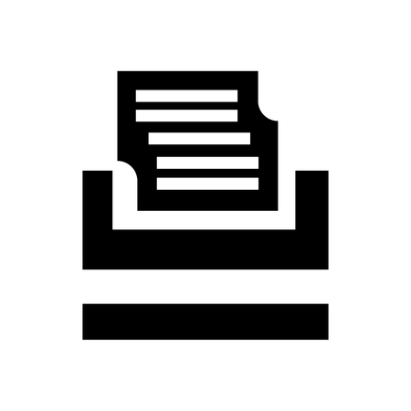 Typewriter icon vector isolated on white background for your web and mobile app design, Typewriter logo concept