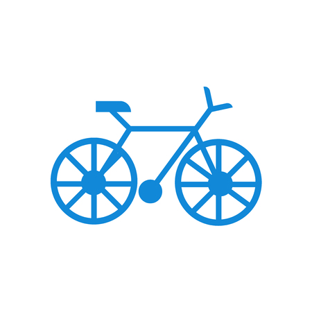 Bicycle icon vector isolated on white background for your web and mobile app design, Bicycle logo concept