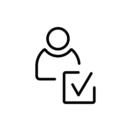 Good review icon isolated on white background for your web and mobile app design