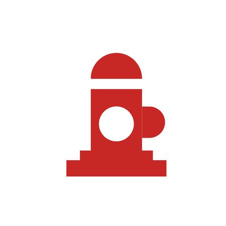 Hydrant pictogram vector geïsoleerd op witte achtergrond voor uw web en mobiele app design, Hydrant logo concept