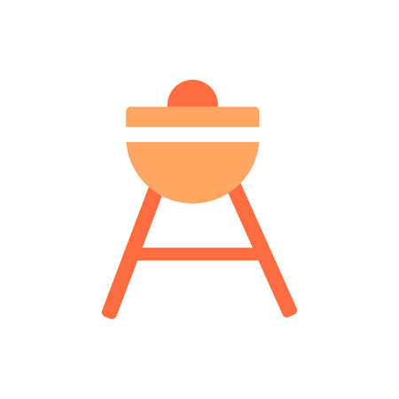 Bbq icon isolated on white background for your web and mobile app design