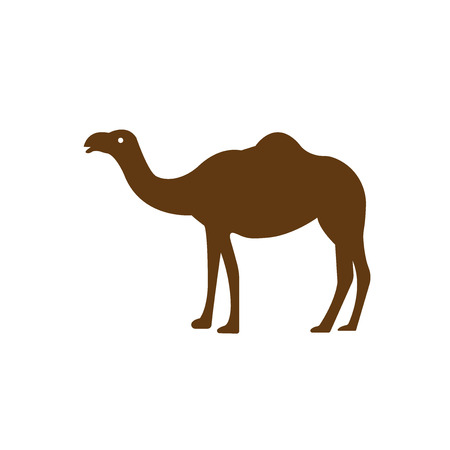 Camel icon vector isolated on white background for your web and mobile app design, Camel logo concept