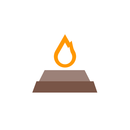 Yagna icon vector isolated on white background for your web and mobile app design, Yagna logo concept Иллюстрация