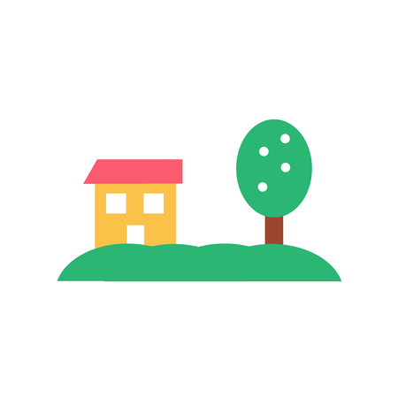 Home icon vector isolated on white background for your web and mobile app design, Home logo concept