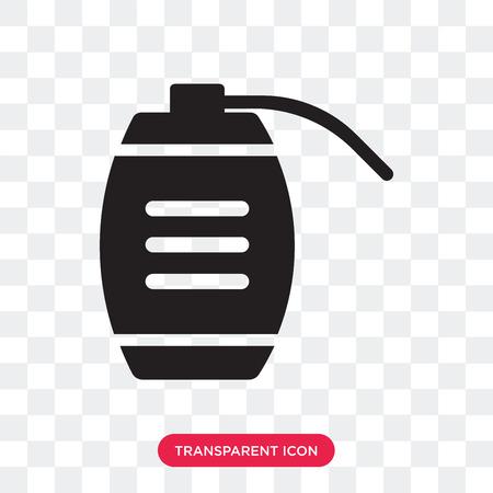 Granade vector icon isolated on transparent background, Granade logo concept Logo