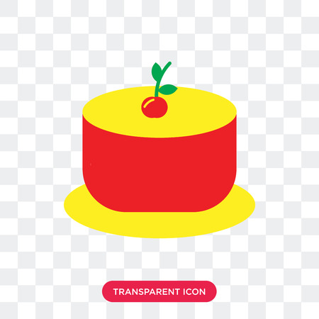 Jelly vector icon isolated on transparent background, Jelly logo concept Stock Vector - 107375171