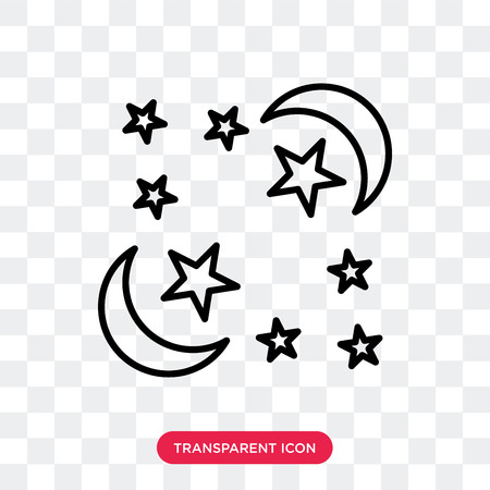 Ramadan Month vector icon isolated on transparent background, Ramadan Month logo concept