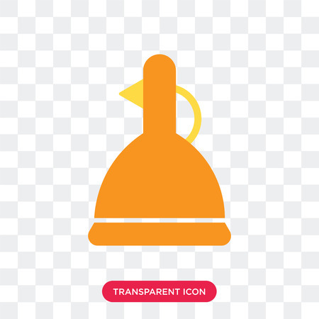 Vinegar vector icon isolated on transparent background, Vinegar logo concept Illustration