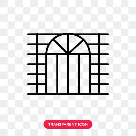 4e0de7affa2 Window vector icon isolated on transparent background