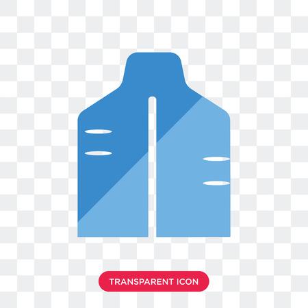 Men Back vector icon isolated on transparent background, Men Back logo concept Ilustração