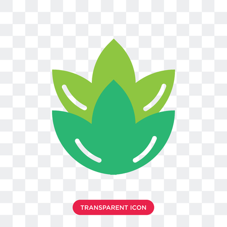 Artichoke vector icon isolated on transparent background, Artichoke logo concept