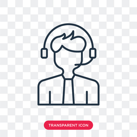 Administrator vector icon isolated on transparent background, Administrator logo concept