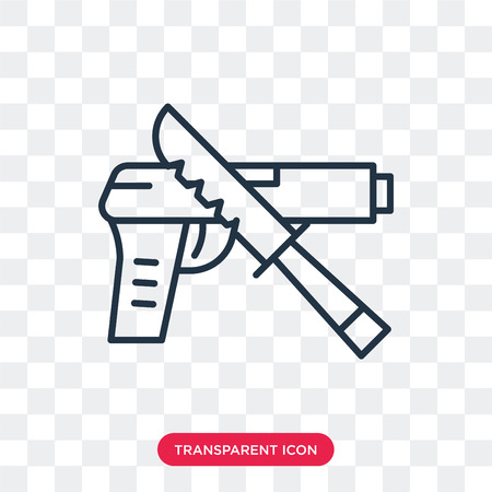 Evidence vector icon isolated on transparent background, Evidence logo concept Illustration