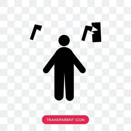 Miner vector icon isolated on transparent background, Miner logo concept Stock Vector - 107536903