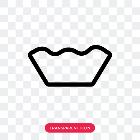 Mould vector icon isolated on transparent background, Mould logo concept Illustration