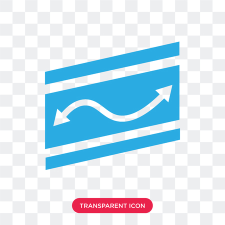 Road Map Folded vector icon isolated on transparent background, Road Map Folded logo concept