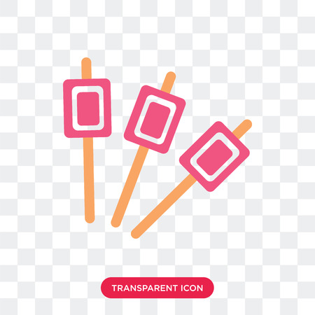 Marshmallow-Vektorikone lokalisiert auf transparentem Hintergrund, Marshmallow-Logo-Konzept