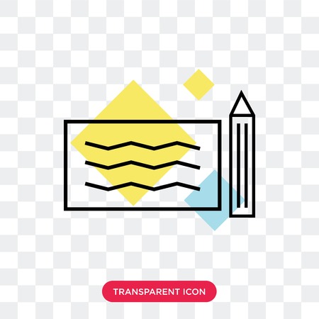 Check vector icon isolated on transparent background, Check logo concept