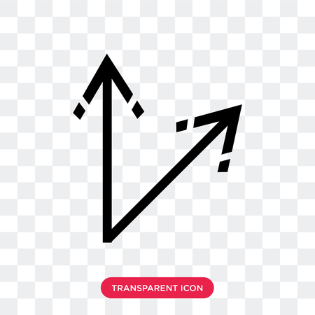 Move vector icon isolated on transparent background, Move logo concept