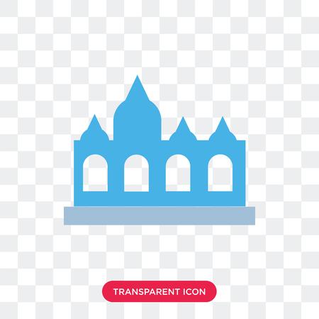 Vaticano vector icon isolated on transparent background, Vaticano logo concept 일러스트