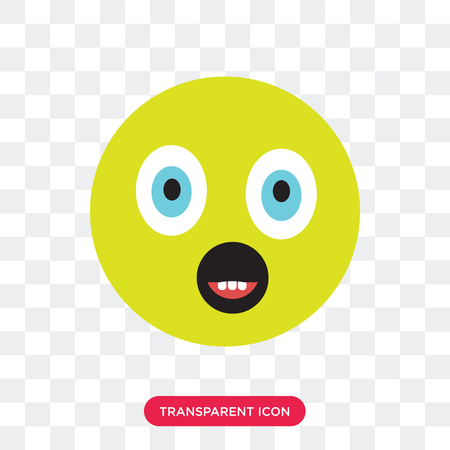 Happy vector icon isolated on transparent background, Happy logo concept