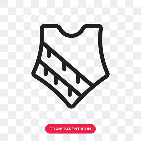 Poncho vector icon isolated on transparent background, Poncho logo concept