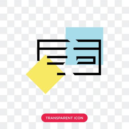 Broken vector icon isolated on transparent background, Broken logo concept