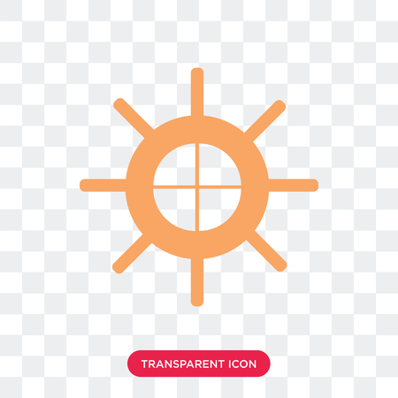 Helm vector icon isolated on transparent background, Helm logo concept Stock Illustratie
