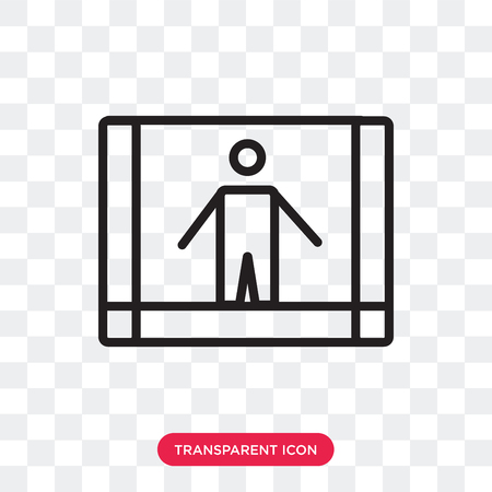 Risk vector icon isolated on transparent background, Risk logo concept