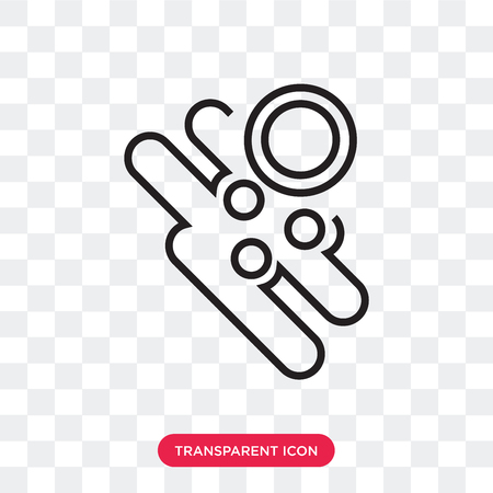 Ring vector icon isolated on transparent background, Ring logo concept