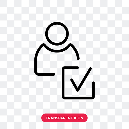 Good review vector icon isolated on transparent background, Good review logo concept