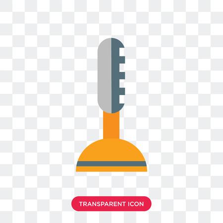Joystick vector icon isolated on transparent background, Joystick logo concept