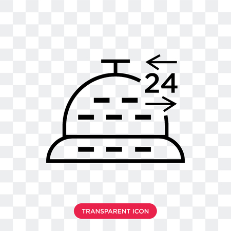 Delivery day vector icon isolated on transparent background, Delivery day logo concept Illustration