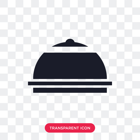 Meal vector icon isolated on transparent background, Meal logo concept Vectores