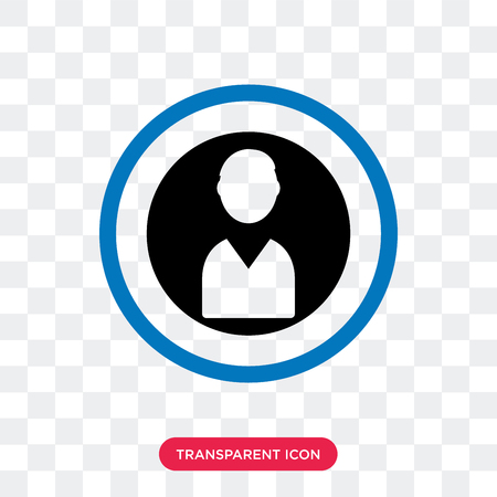Coin vector icon isolated on transparent background, Coin logo concept
