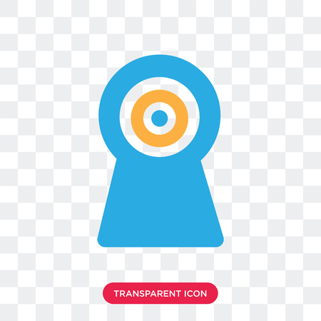 Webcam vector icon isolated on transparent background, Webcam logo concept 向量圖像