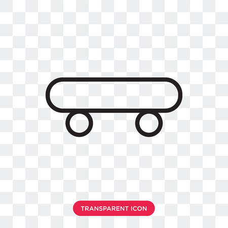 shoes wheels vector icon isolated on transparent background, shoes wheels logo concept