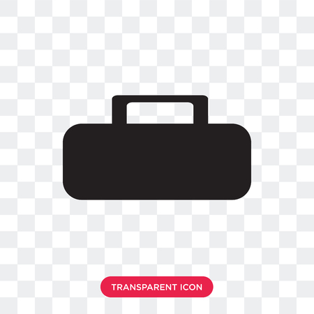 Female wallet vector icon isolated on transparent background, Female wallet logo concept Illustration